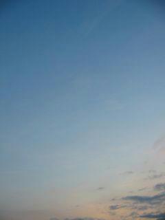 2月26日朝6時20分ごろの空01