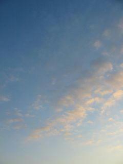 2月29日朝6時半ごろの空01