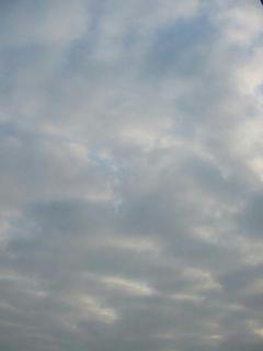 3月17日朝7時ごろの空01