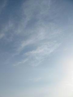 4月15日朝6時40分ごろの空01