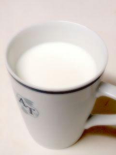 ホットミルク♪