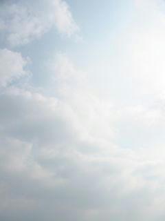 4月29日朝8時10分ごろの空01