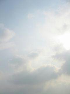 5月24日朝7時40分ごろの空01