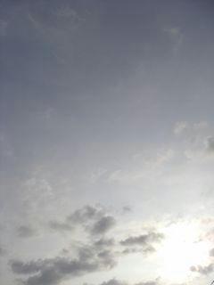 7月30日朝6時10分ごろの空01