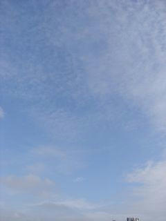 8月27日朝7時半ごろの空02