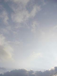 9月3日朝6時20分ごろの空01