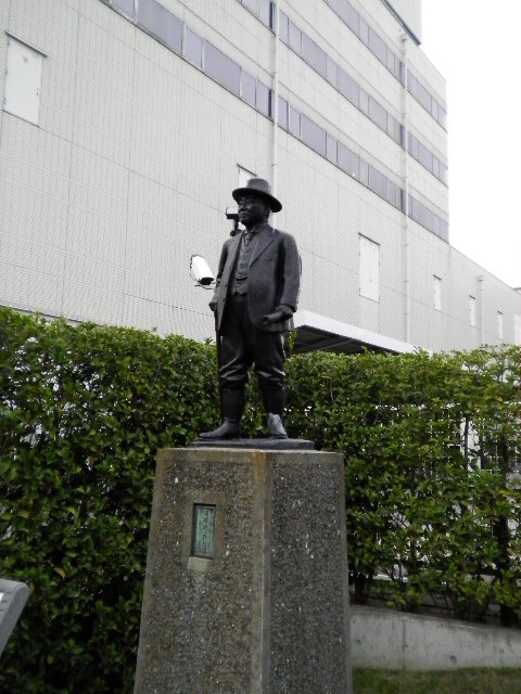 東京都江東区の歴史 浅野総一郎像(淺野總一郎翁像)