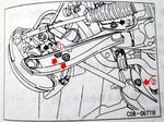 フェアレディZ32 テンションロッド部分整備要領書2