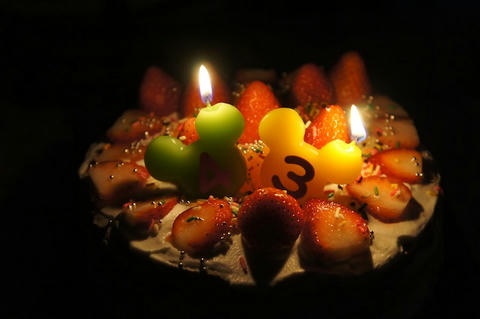 43ケーキ