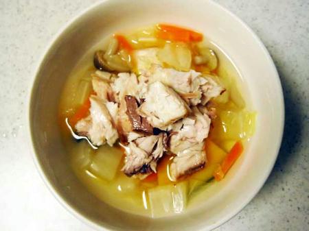 ぶりスープ