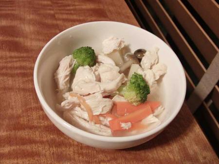鶏むね肉と野菜煮
