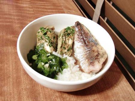 焼き魚 鯵