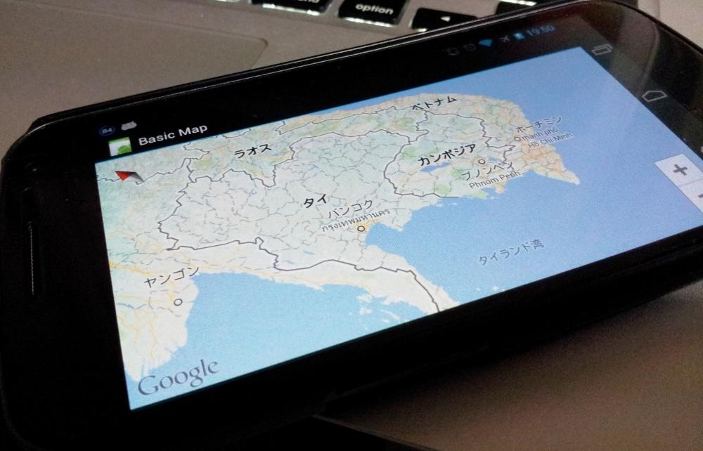 Google Maps Android API v2を試す