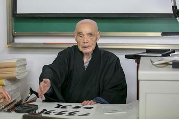 特別講義を行う松本和上