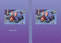 Angel Dog - 天使犬(色鉛筆画) - 「泥酔」