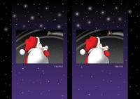 クリスマスイラスト - 「急いで!! トナカイ君」