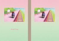 天使犬(色鉛筆画) - 「駅」