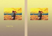 天使犬(色鉛筆画) - 「懐かしい故郷」