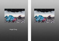 Angel Dog - 天使犬(色鉛筆画) - 「真夜中の静寂」