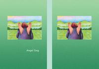 Angel Dog - 天使犬(色鉛筆画) - 「田園」
