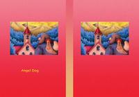 Angel Dog - 天使犬(色鉛筆画) - 「赤い屋根の家」