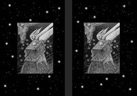 モノクロームイラスト(鉛筆画) - 「鋼鉄のエンジェル」