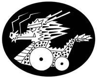龍・竜・辰 - 辰年年賀状デザイン