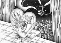 ハート・胎児・胎生・胎内・石舞台・古代都市・洞窟・妖精