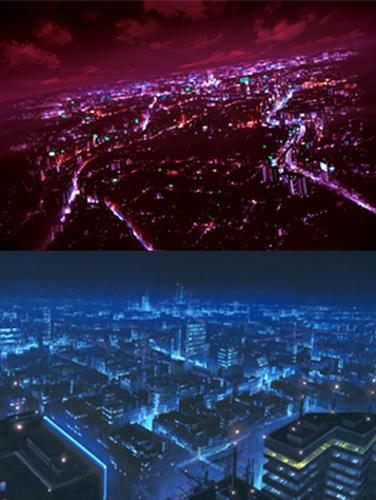夜景背景参考