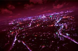 夜景_赤い