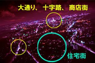 夜景_赤い_解説
