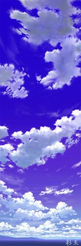 デジタル背景r青空_pan