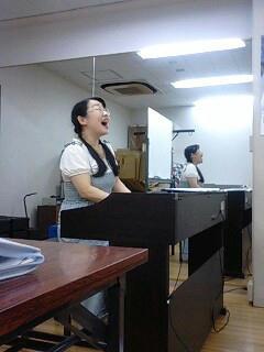 歌唱の授業