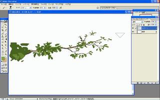 背景講座 CGグラフィック 木