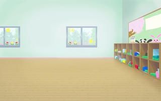 保育園教室背景
