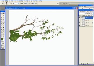CG背景 講座 木