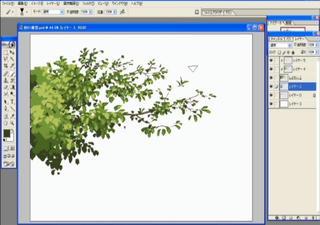 CG背景講座 樹木講座 木講座