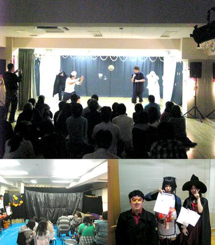 学院祭 名古屋校 5fメインステージ