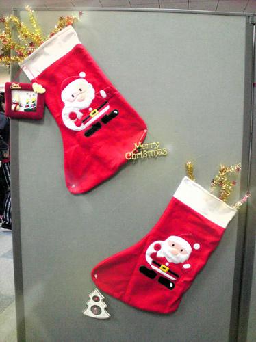 巨大靴下 クリスマスバージョン