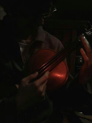 バイオリンはサスティーンがない楽器だからね!それはそれで良い!