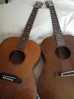 左は64年製、右は62年製。