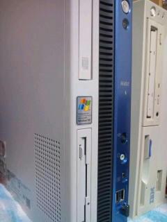 買った中古PCです