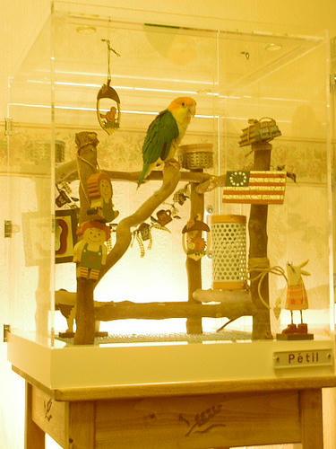 インコ、オウムなど鳥かごのカバー用アクリルケース 保温・防音・脂粉対策
