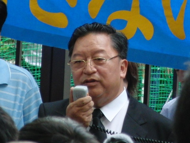 中国政府によるウイグル人虐殺抗議デモ ペマ・ギャルポ