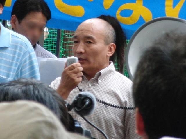 中国政府によるウイグル人虐殺抗議デモ ルントック