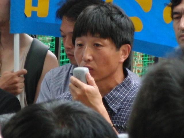 中国政府によるウイグル人虐殺抗議デモ オルホノド・ダイチン