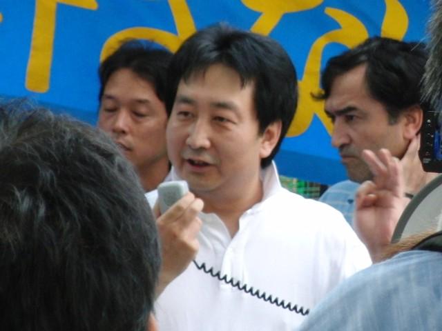 中国政府によるウイグル人虐殺抗議デモ 王進忠