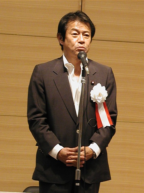 自民党 中川昭一衆議院議員