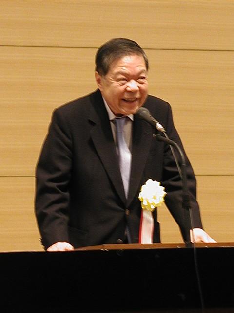 外交評論家で委員会最高顧問の加瀬英明氏