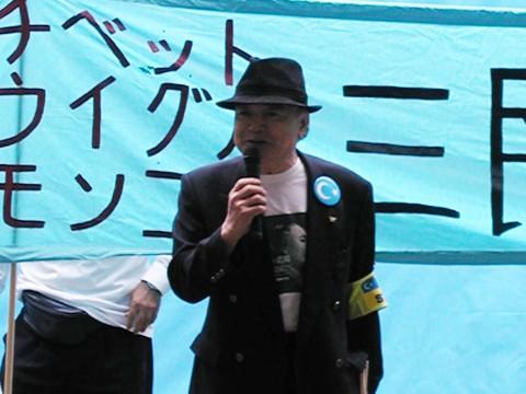 日本ウイグル協会顧問 白石念舟氏